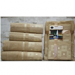 Серый Волна комплект полотенец AISHA