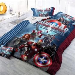 Детское покрывало Капитан Америка