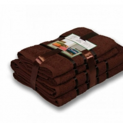 Шоколад Aqva комплект полотенец AISHA