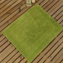 Коврик для ног нескользящий зеленый