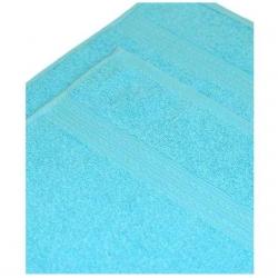 Полотенце махровое Светло-голубое  ITUMA
