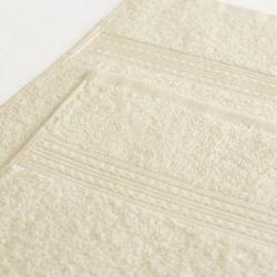 Полотенце махровое Светло-кремовое ITUMA