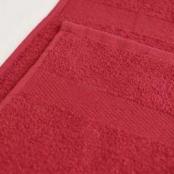 Полотенце махровое Бордовое ITUMA