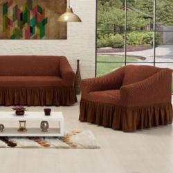 Чехлы на мягкую мебель Altinkoza kahve
