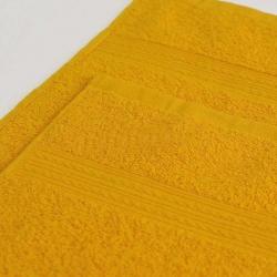 Полотенце махровое Желтое ITUMA