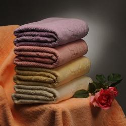 Полотенце Амалия розовый
