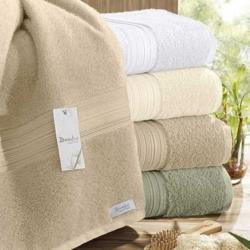 Полотенце Бамбук зеленый